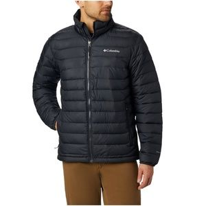 Men's Columbia Black Powder Lite Jacket Medium